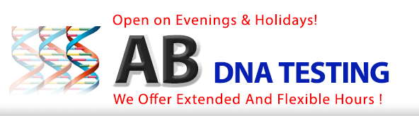 DNA Testing NYC - AB DNA Testing - MD supervised  paternity DNA testing and Immigration DNA testing at the best price.